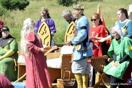 Her Excellency returns the Coronet of Thescorre