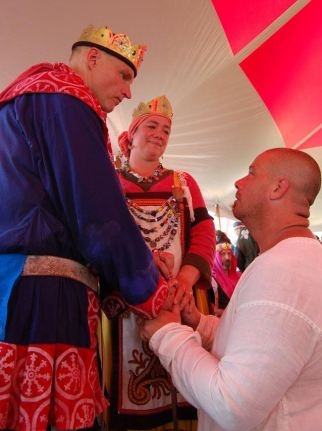 Sir Hagar Knighting