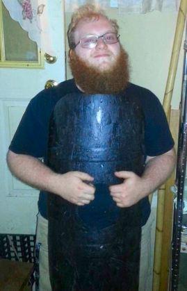 Reuben in armor