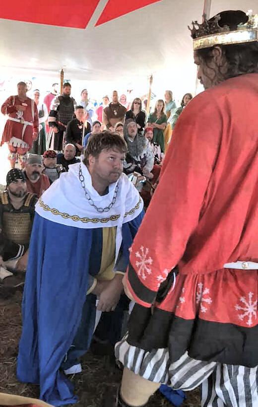 Arden knighting