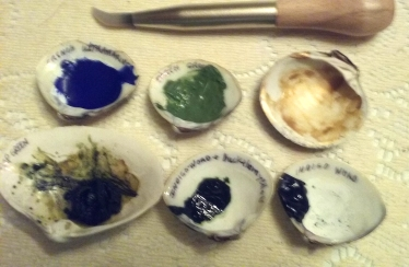 mixed pigments